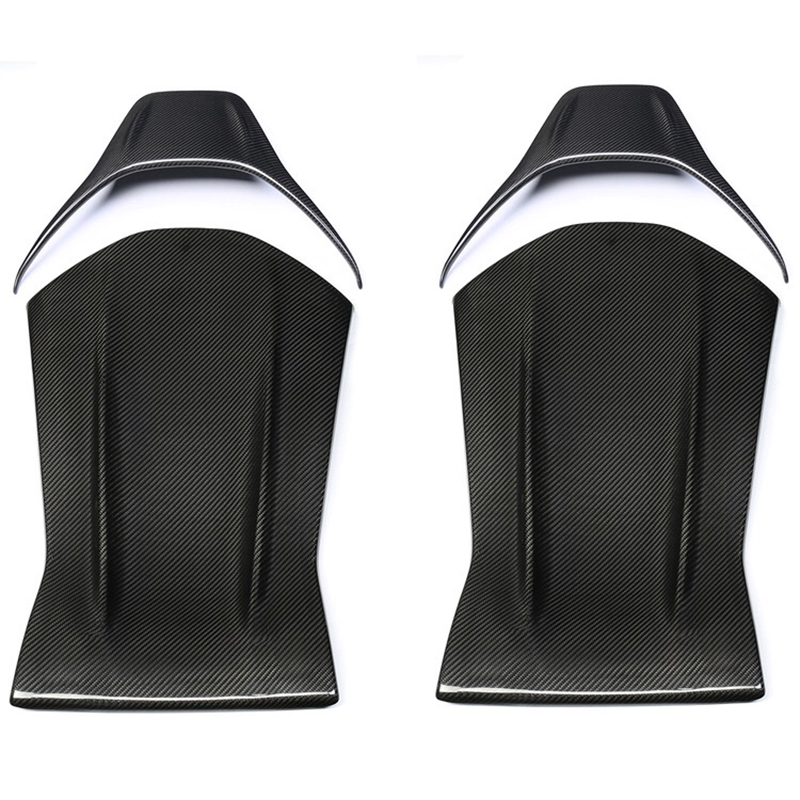 For Mercedes 2019 New Fashion Sports Carbon Fiber Back CLA GLA A45 E63 C63AMG Carbon Fiber Modified Seat Back Car Interior Acces