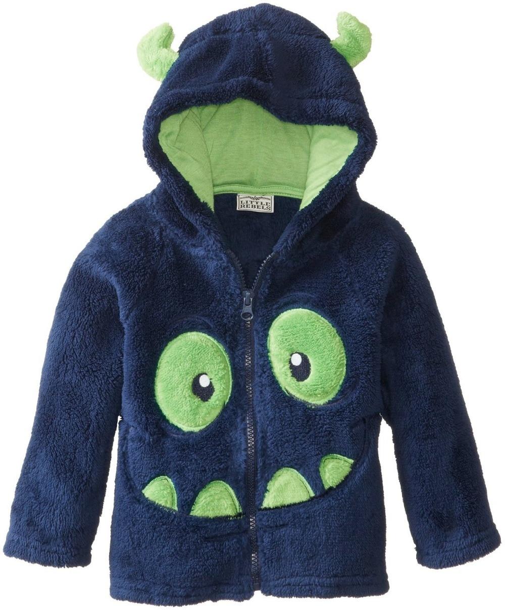 0-5Year / Sonbahar Kış Bebek Kız Erkek Giyim Mont Ve Ceketler - Çocuk Giyim - Fotoğraf 3