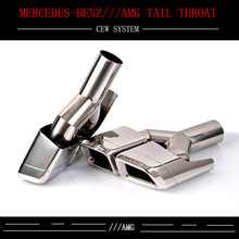 ФОТО kowell-special offer free mail great deals! set of stainless steel exhaust pipes tips amg style exhaust tips for w212 for benz