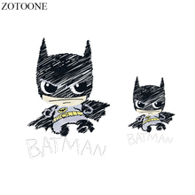 ZOTOONE Iron On Transfer Patch Badge Applique Batman Heat Vinyl For Clothes T Shirt Fabric Stickers Thermal Press DIY E