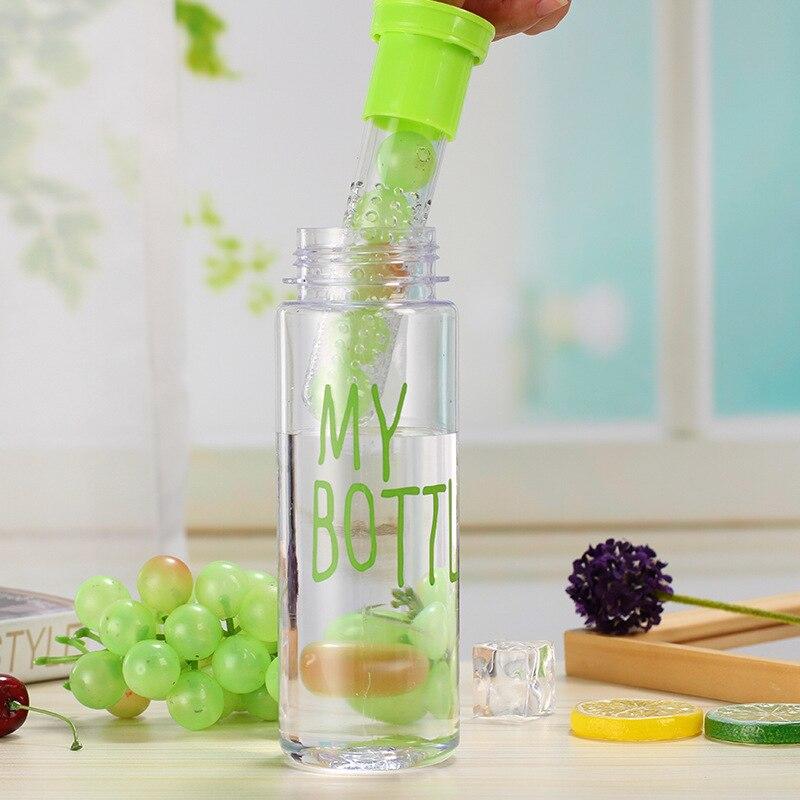 500 мл Пластик фрукты для заварки бутылка для воды с фильтром герметичные Спорт Пеший Туризм Кемпинг пить лимон Shaker бутылка воды