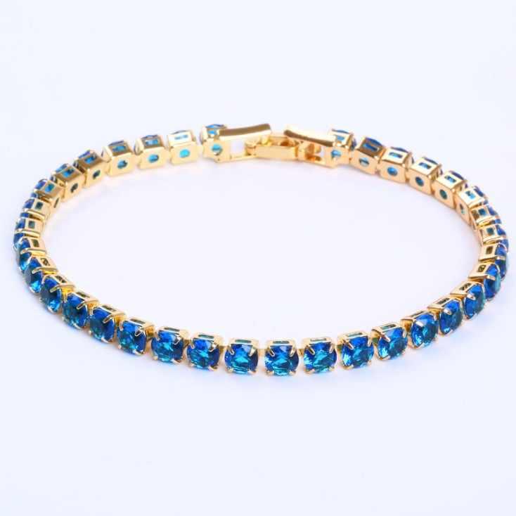 Koop 2 Kleur Mode-sieraden 925 Zilveren Crystal Heart Charm Armband Kristallen Uit Swarovskis Voor Vrouwen Gift