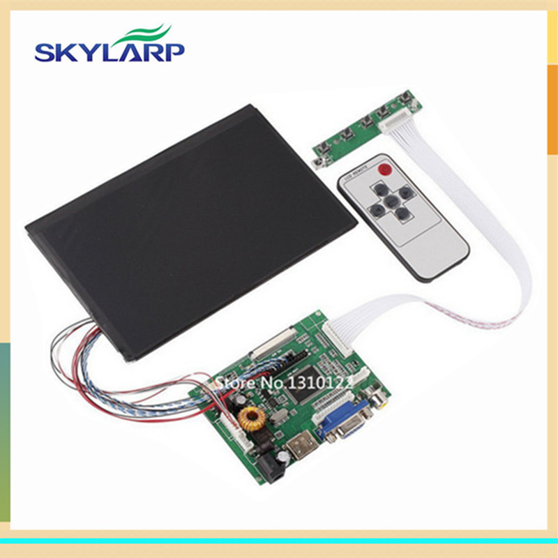 skylarpu 7 Inch 1280*800 LCD screen IPS Screen With Remote Driver Control Board 2AV HDMI VGA for Raspberry Pi (without touch)