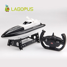 lagopus High Speed RC Boat Toys for Children 2.4GHz Remote  Control Racing Boat 4 Channels Electric Boat Model Gift for Kids