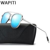 Wapiti 2018 Piloto gafas de Sol Polarizadas de Las Mujeres Transparentes de Cristal Hembra Sol Hombres Original de la Marca de Lujo gafas de Sol de Metal 0889