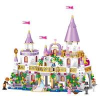 City Friend Princess's Castle Lepin Technic Building Block Children Legoings Compatible with Legoingly Princess Toys for Girls