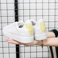 Women Casual Shoes White Classic shoes Butterfly heel Trainers leather Basket Flat Women Casual Shoes Brand Skate Shoes
