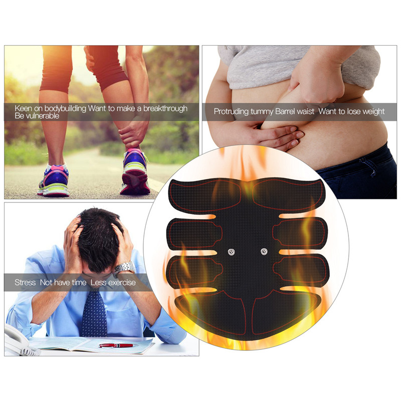 Smart EMS Muscle Arm Waist Body Exerciser Simulation Abs Fit Muscles Intensive Training ABS Training Gear Lifting Waist SlimmingSmart EMS Muscle Arm Waist Body Exerciser Simulation Abs Fit Muscles Intensive Training ABS Training Gear Lifting Waist Slimming