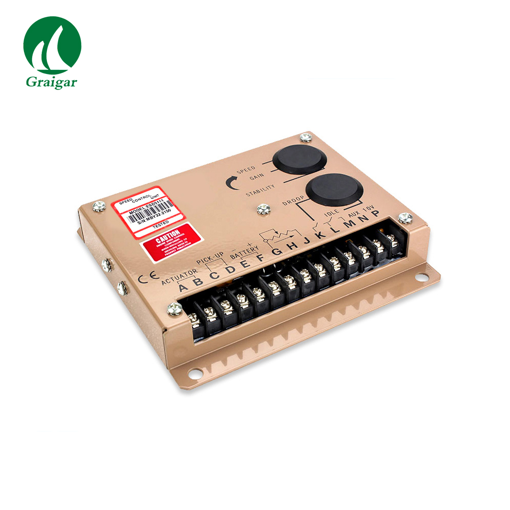 Generator Speed Governor PER5111/ESD5111 GAC Parts Parker Dc Drive ESD5111 Speed Controller engine speed controller esd5111 5pieces generator parts