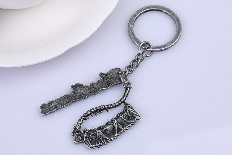 Bloodborne Limited Edition Metal Keychain Bloodborne Keychain PS4 Game Key Ring Men Women Jewlery Key Chains