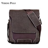 2015 Casual Oxford Patchwork Genuine Leather Men Bags Leisure Breathable Vintage Business Men S Messenger Bag