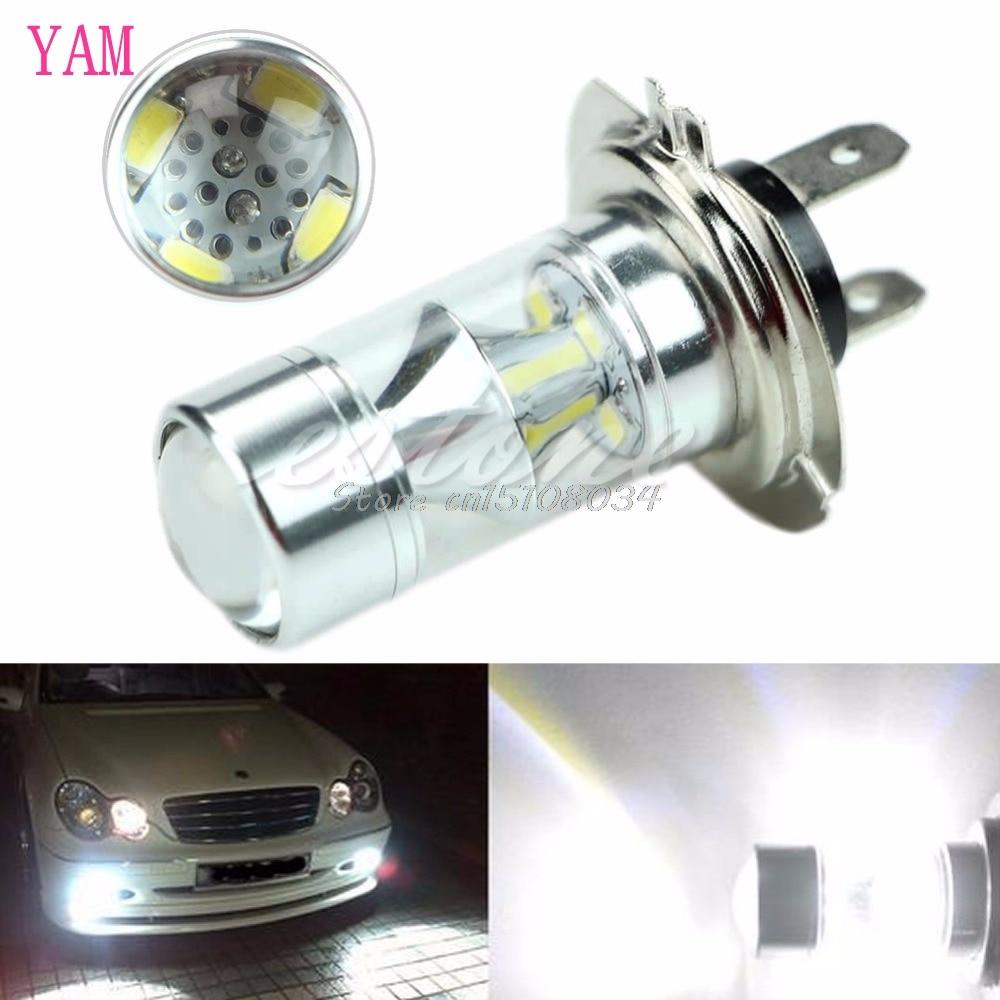 H7 60W 6000K Super White 2323 LED Fog Lights 12-SMD Driving Bulbs 12V S08 Wholesale&DropShip