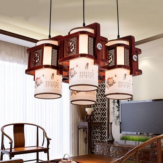 New chinese style pendant lights small pendant lamp solid wood stair balcony lamps and lanterns vintage restaurant lu728294 in pendant lights from new chinese style pendant lights small pendant lamp solid wood stair balcony lamps and lanterns vintage moze Images