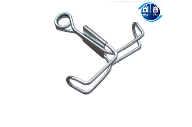 Spring Water Stop Clip Metal Latex Pipe Clamp Chemical Laboratory Equipment 5pcs Free Shipping