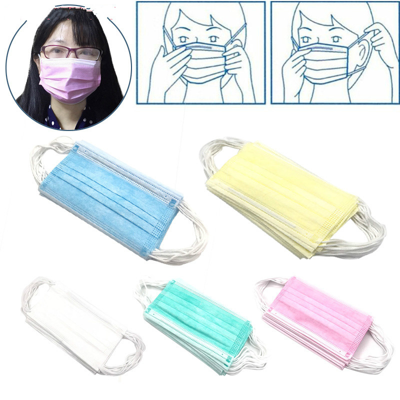 surgical ear loop 3 ply masks