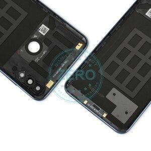 Image 4 - Asus zenfone max pro m2 zb631kl 백 하우징 배터리 도어 커버 pc 플라스틱 + 사이드 키 교체 수리 부품