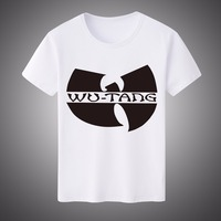 Wu Tang Clan DIY Design T Shirt Men Fashion Casual Costume Cool Print Men T Shirt