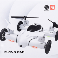 F809 2 IN 1 RC Flying Car 4WD 2 4G 4CH Remote Control Drone With WIFI