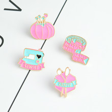 4 Buah/Set Bros dan Pin Pink Jahit Merajut Pita Pengukur Sewist Licik Alat Pin Set Serat Artis Peer-To-Peer Hallows Hari hadiah(China)
