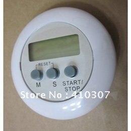 Милый Круглый Магнитный ЖК-цифровой кухонный таймер обратного счета с сигналиацией с подставкой таймер секундомер часы