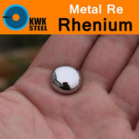 Re Rhenium Powder Sheet Bar Ball Pure 99.99% Periodic Table of Rare-earth Metal Elements for Research Study Education Collection