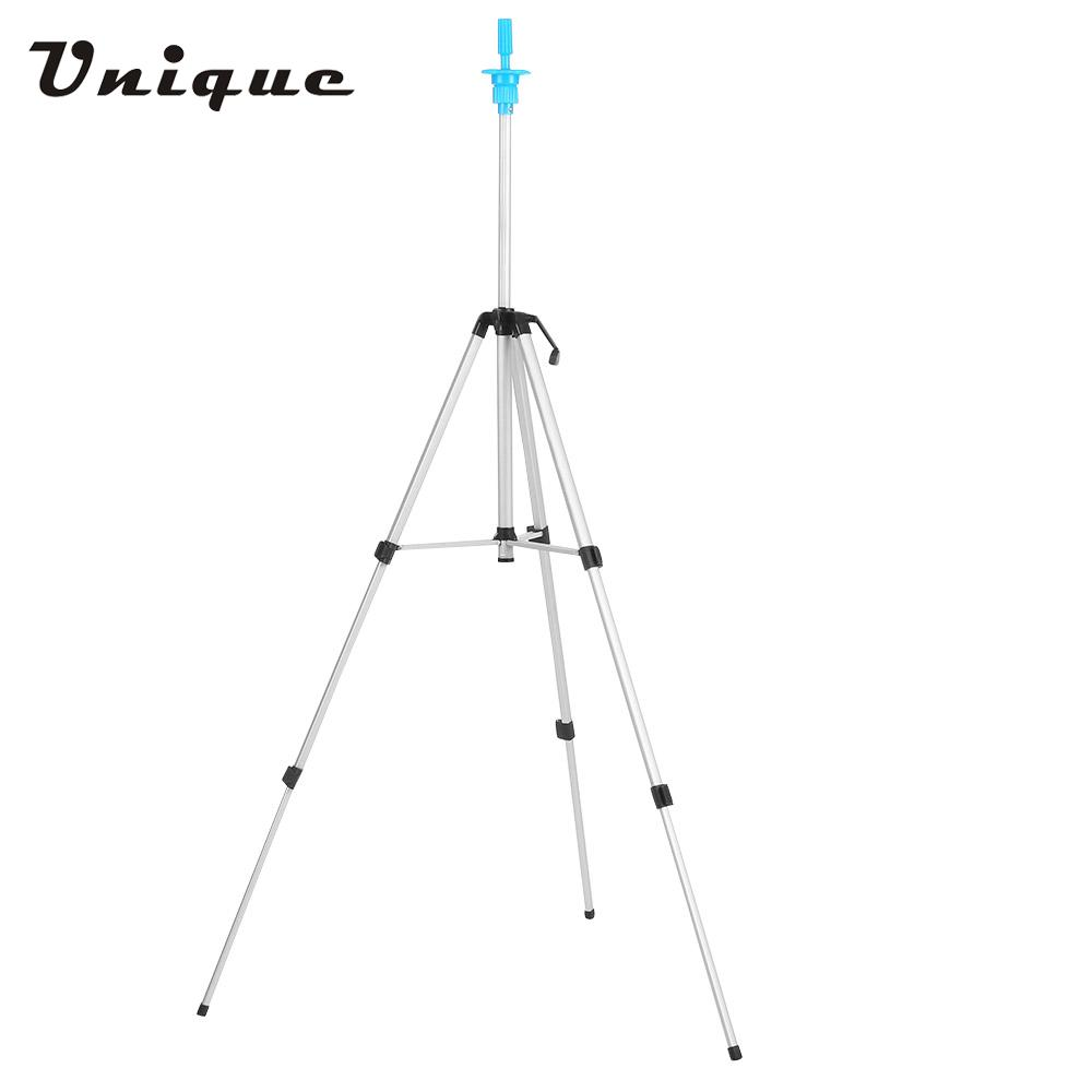 Adjustable Wig Tripod Stand Head Mannequin Hairdressing Training Tripod Holder Wig Head Holder Hair Salon With