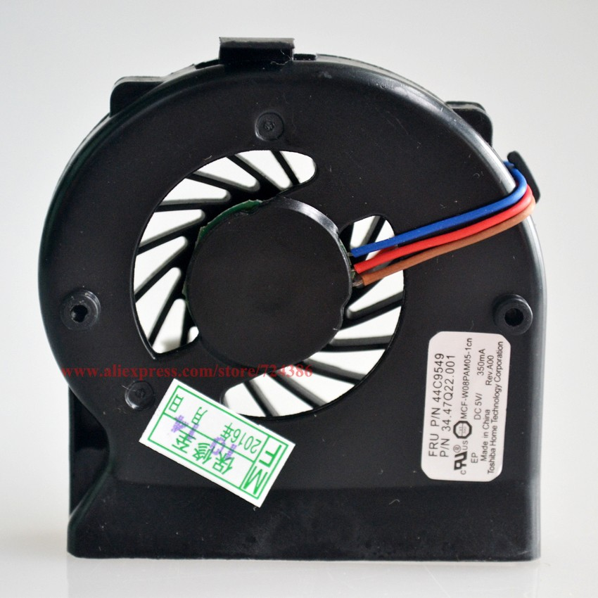 US $21 6 10% OFF|5pcs/lot Brand New Cooling Fan for Lenovo IBM Thinkpad  X200 CPU X201 X201I Cooler Radiator Cooling Fan 45N4782 -in Fans & Cooling