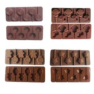 Pastry-Mould Mold Chocolate-Mold Lollipop-Cake-Decorating Lollipops Silicone Candy 1PC