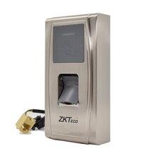 De Metal À Prova D' Água IP65 Comparecimento Do Tempo Da Impressão Digital e Controle de Acesso MA300 ZK Controle De Acesso Com Cartão de ID Fingperint