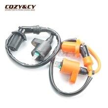 Стандартный и высокая производительность катушки для Aprilia RS/rx50(94-05) AM6 RS125 sr125 d50b0 scarabeo 50 100 125 200 250 GY6 2Pin
