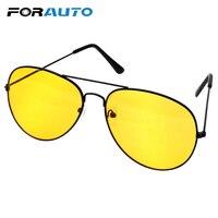 FORAUTO gafas de sol antideslumbrantes para Conductor de coche gafas de visión nocturna accesorios de coche gafas de conducción de aleación de cobre|Gafas de piloto| |  -