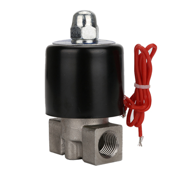 цена на DN08 AC220V 110V DC24V 12V 1/4 compact good price stainless steel solenoid valve for air, water, oil, gas