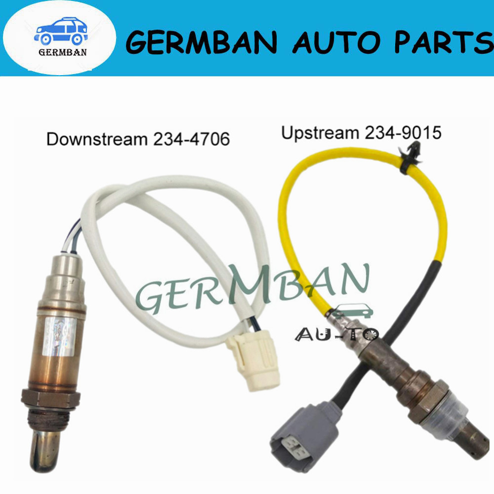 2Pcs OE Front&After Air Fuel Ratio Sensor 234-4706 22641-AA140 22690-AA420 For 03-06 Subaru Impreza Forester Outback Baja 2.5L2Pcs OE Front&After Air Fuel Ratio Sensor 234-4706 22641-AA140 22690-AA420 For 03-06 Subaru Impreza Forester Outback Baja 2.5L