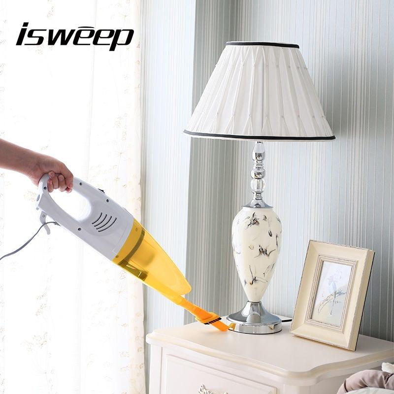 JIAWEISHI Ultra Quiet Mini Home Rod Vacuum Cleaner Portable Dust Collector Home Aspirator Handheld Vacuum Cleaner