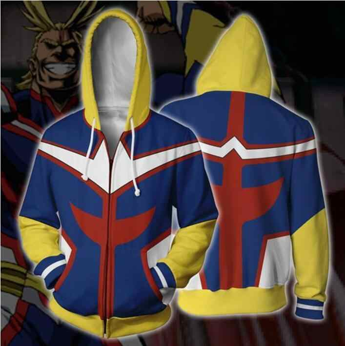 私のヒーロー学界パーカー Izuku Midoriya Shouto 轟僕なしヒーロー学界コスプレ衣装すべてかもしれないジッパージャケット
