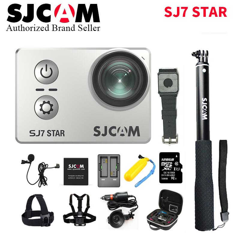 128g Tf Sjcam Sj7 Stern Wifi 4 K 30 P 2 Touch Screen Remote Action Helm Sport Kamera Wasserdicht Ambarella A12 Chip Camcorder Von Der Konsumierenden öFfentlichkeit Hoch Gelobt Und GeschäTzt Zu Werden Sport & Action-videokamera