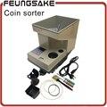 Электронный сортировщик монет SE-400 машина для подсчета монет для всех стран на заказ  сортировка со светодиодом  швейцарская монетница Фран...