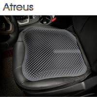 Atreus Silicone massage cushion Car Seat Cover For Saab Infiniti Acura Haval Kia Rio Suzuki Grand Vitara Swift SX4 Jimmy samurai