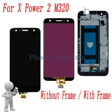 5.5'' Full LCD DIsplay + Touch Screen Digitizer Assembly With Frame For LG X Power 2 M320 M320G M320F M320N ; Black ;New(China)