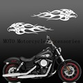 "Motorcycle decals Flame Eagle Fuel Tank Decal Fairing Sticker For Sporter Dyna Touring Softiail 13"" Motorcycle Stickers"