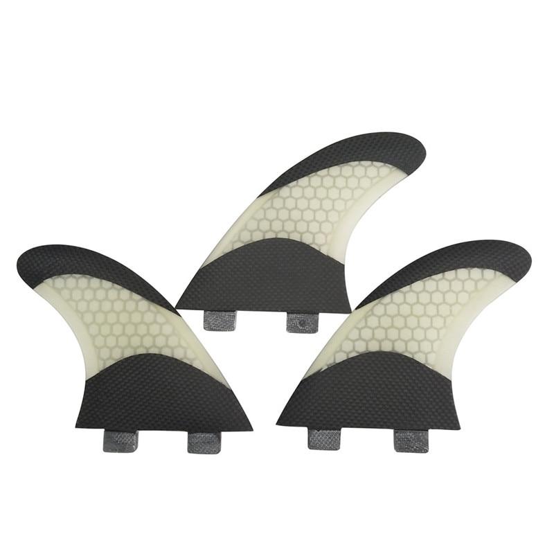 서핑 보드 핀 서핑 FCS G7 핀 Quilhas 5 색 및 검은 색 유리 섬유 핀 허니 콤 핀 스러 스터