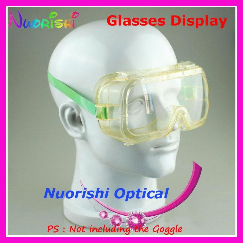8 цветов голова модель пресс формы дисплей подставки для демонстрации очков Солнцезащитные очки, очки крышка Подставка для наушников CK103 Бесплатная доставка - 3