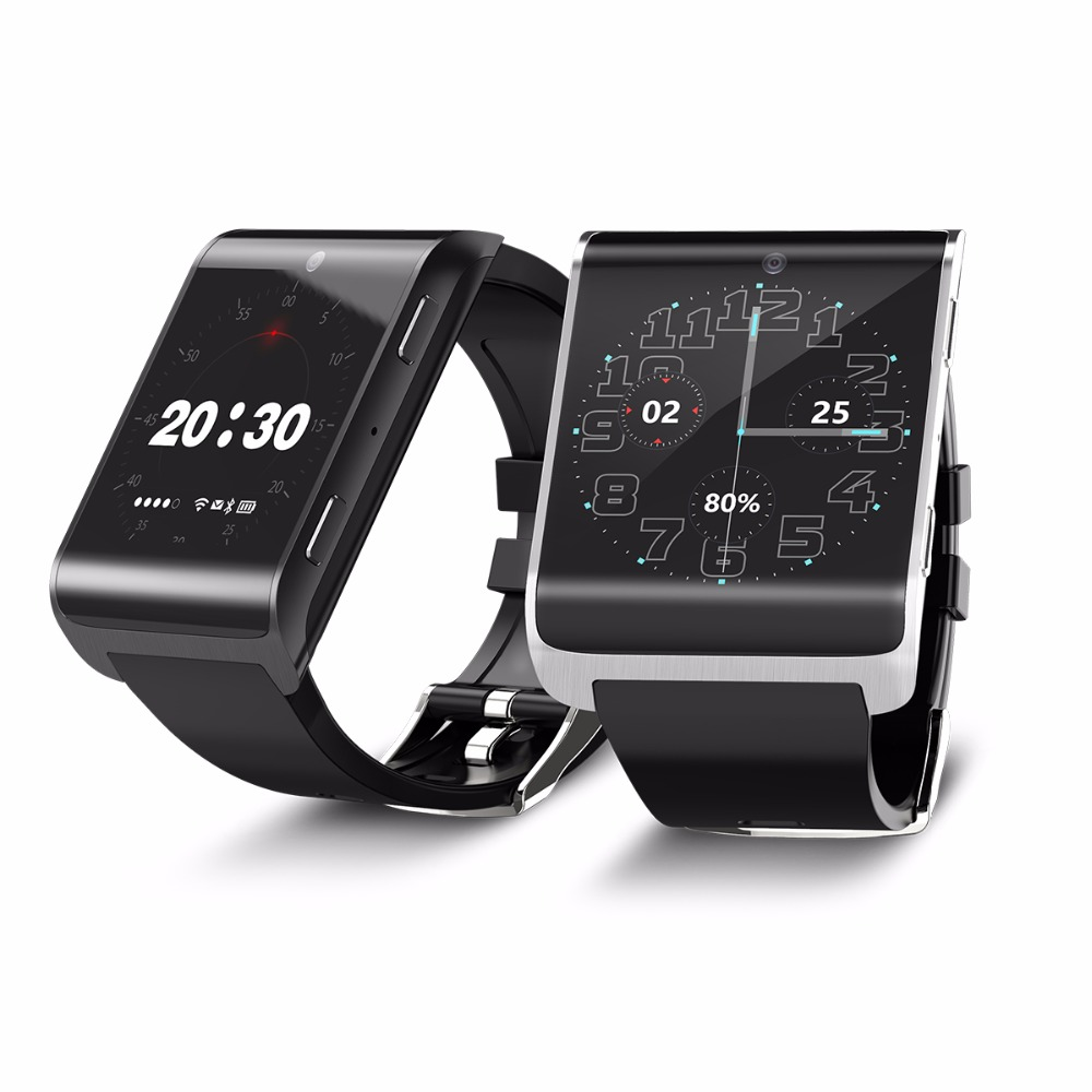 Original DM2018 Smart Watch Android 6.0 Heart Rate Monitor 1.54IPS MTK6737M 4G Wifi GPS Quad Core SIM For iPhone Smartwatch Men 4g smart watch 1 54 inch ips rom16gb ram1gb wifi gps pedometer heart rate monitor bluetooth 4 0 watch phone dm2018 for android