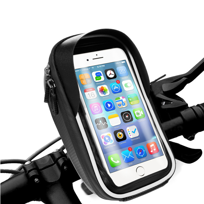 Turata Universal Waterproof Motorcycle and Bicycle Phone Holder