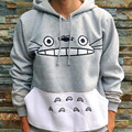fashion autumn casual street cartoon totoro hoodie animal pattern sweatshirt 3D printing women jacket spring thick cutie clothe