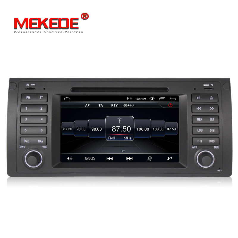 Nouveauté! Mekede android 8.1 gps dvd auto lecteur pour BMW E53 X5 E39 avec wifi BT radio navigation gps y compris canbus