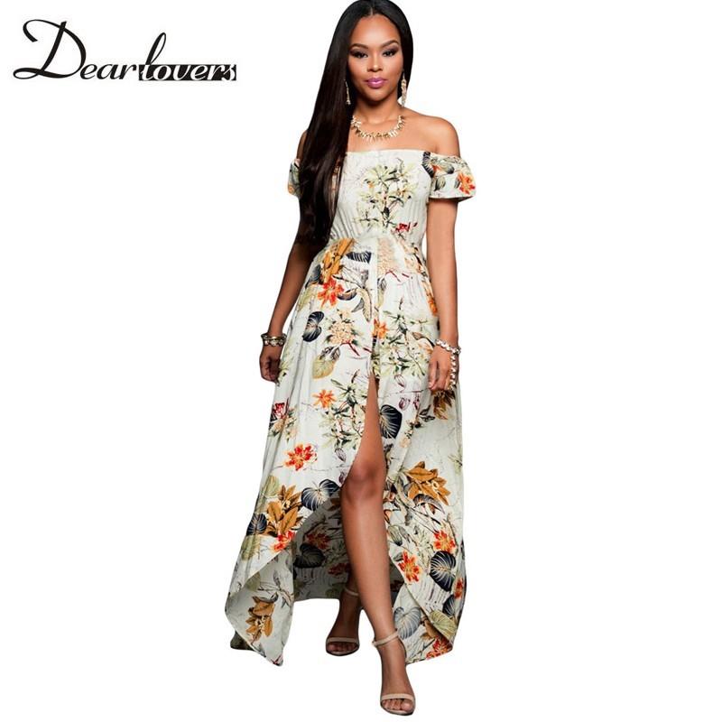HTB1015MKFXXXXXGXFXXq6xXFXXXb - Maxi Dress Floral Slit Romper Long Dress JKP062