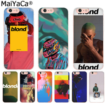 MaiYaCa Frank Ocean Colorful Phone Accessories Case for Apple iPhone 8 7 6 6S Plus X 5 5S SE 5C 4 4S Mobile Cover dial vision adjustable lens eyeglasses