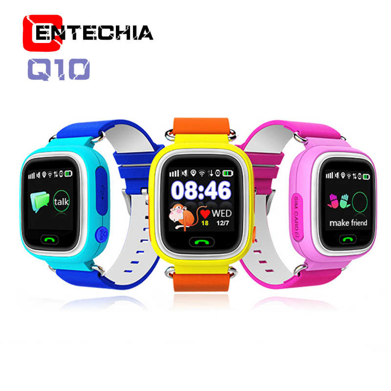 GPS Child Smart Watch Phone Position Children Watch 1.22 inch Color Touch Screen WIFI SOS Smart Baby Watch Q50 q80 q60 Watch