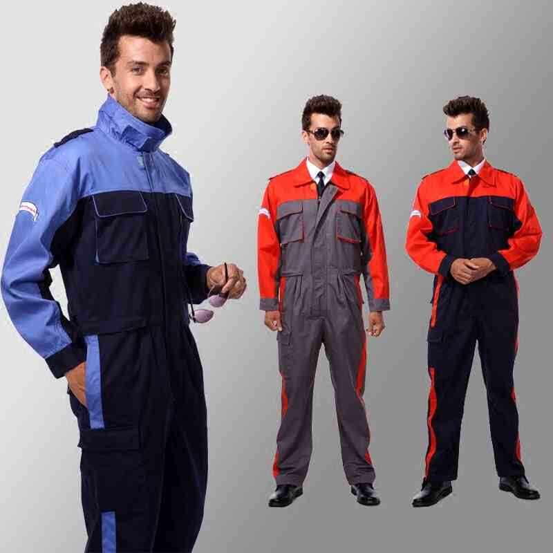 CCGK Mens Work Clothing Long Sleeve Coveralls Factory Uniforms Plus Size  Worker Repairman Machine Auto Repair edd16e37ea7a